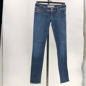 Hollister stretch skinny jeans junior sz 1